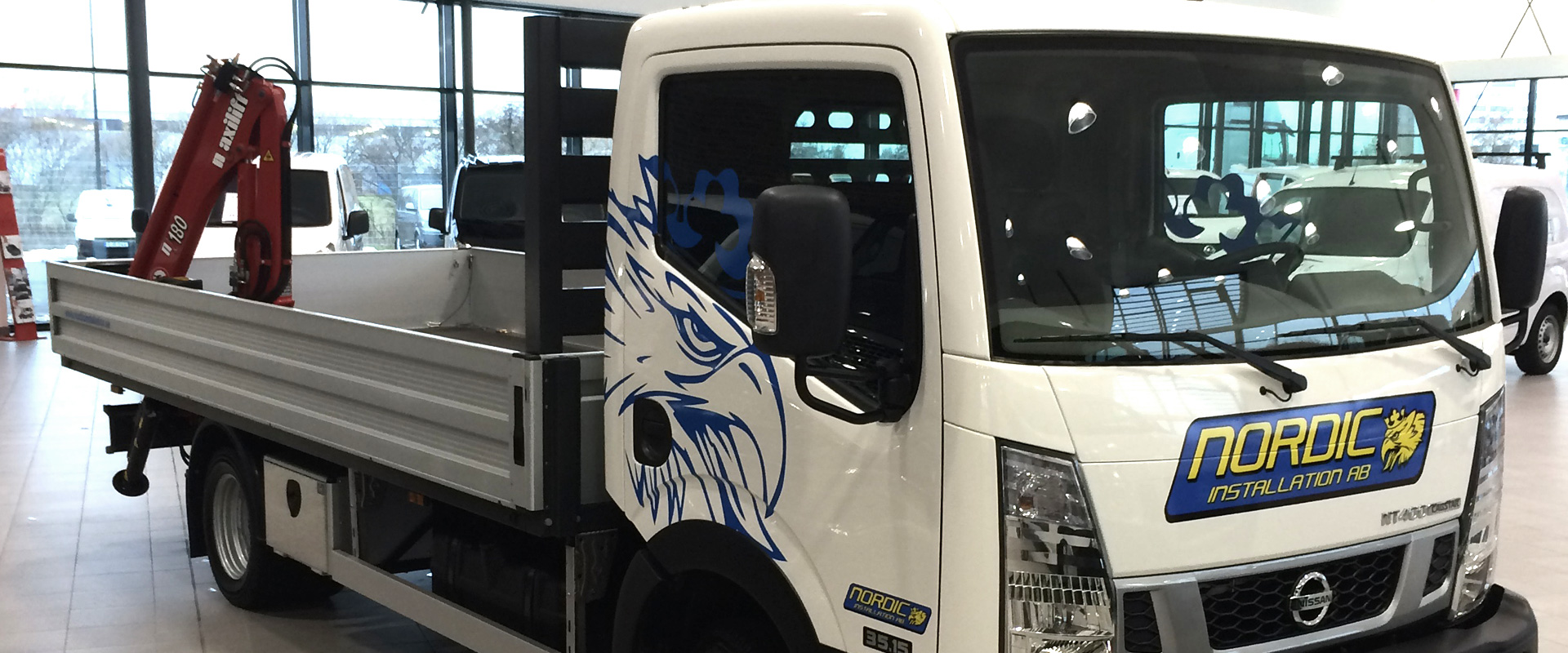 New crane truck